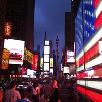 Photo taken at W New York - Times Square by Annie C. on 7/23/2013