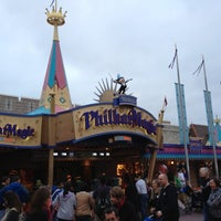 Photo taken at Mickey's PhilharMagic by Marcos M. on 11/28/2012