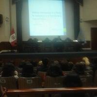 Photo taken at Colegio de Abogados de Lima by Guillermo S. on 9/21/2016