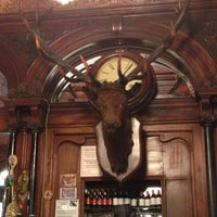 Photo taken at The Stag's Head by Logan L. on 10/20/2012
