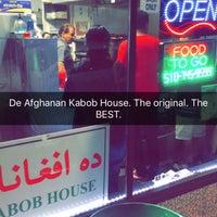 Photo taken at De Afghanan Kabob House by Imran A. on 7/24/2016
