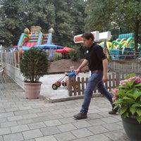 Photo taken at Amusementspark Tivoli by Yvonne B. on 9/7/2013