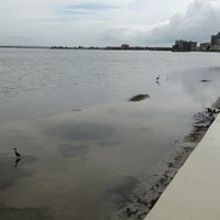 Photo taken at Boardwalk Behind Shoppes Of Sand Key by Peter S. on 7/5/2013