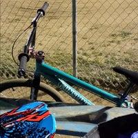 Photo taken at Catcus Park BMX by Nanc D. on 2/14/2014