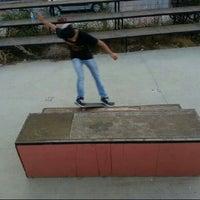 Photo taken at Gürpinar Skate Park by Fatih B. on 9/4/2013