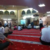 Photo taken at Masjid Saidina Umar Al-Khattab by Redza I. on 5/17/2013