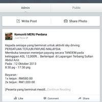 Photo taken at Jabatan Bomba dan Penyelamat Perak by Aminudin A. on 10/1/2013
