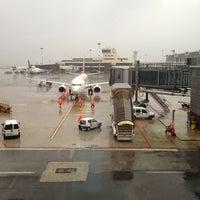 Photo taken at Milan Malpensa Airport (MXP) by EMRAH Ö. on 9/15/2013