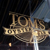 Photo taken at Tom's Oyster Bar by Kate H. on 8/20/2013