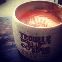 Photo taken at Trouble Coffee by Zach C. on 10/15/2012
