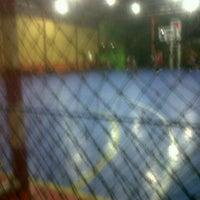 Photo taken at Zona Futsal Pulau Situ Gintung by daniel n. on 1/26/2013