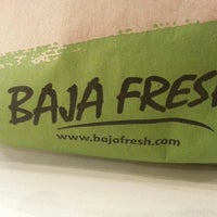 Photo taken at Baja Fresh Mexican Grill by Mike S. on 1/12/2014