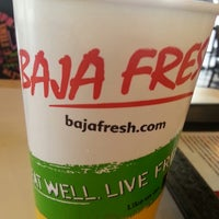 Photo taken at Baja Fresh Mexican Grill by Mike S. on 12/15/2013