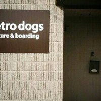 Photo taken at Metro Dogs Daycare & Boarding by Justin on 3/27/2013