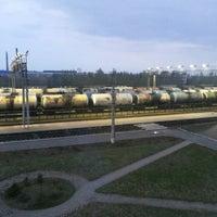 Photo taken at Ж/д станция Ивангород by Ekaterina N. on 7/30/2013