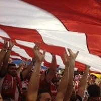 Photo taken at MAPFRE Stadium by Zachary C. on 9/11/2013