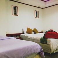 Photo taken at Vasu Hotel Mahasarakham by Nisa A. on 10/20/2014