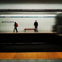 Photo taken at Bathurst Subway Station by Rob on 6/8/2013