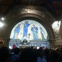 Photo taken at Iglesia de Piedra by Flavia C. on 12/24/2013