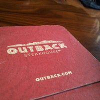 Photo taken at Outback Steakhouse by Amin J. on 3/15/2013