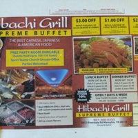 Photo taken at Hibachi Grill Sushi Buffet by Ben M. on 12/14/2012