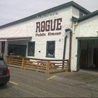 Photo taken at Rogue Ales Public House by Erik B. on 8/3/2013