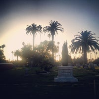 Photo taken at Hollywood Forever Cemetery by Erin J. on 6/26/2013