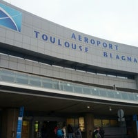 Photo taken at Aéroport Toulouse-Blagnac (TLS) by Carlos T. on 2/18/2013