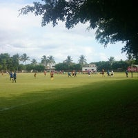 Photo taken at Canchas ejidal las juntas by Guillermo G. on 7/17/2014