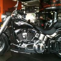 Photo taken at Harley-Davidson Capital Brussels by Marie L. on 8/3/2013