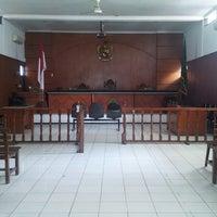 Photo taken at Pengadilan Negeri Kelas IA Bale Bandung by Abang G. on 10/28/2014