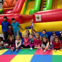 Photo taken at Jump'n Jungle by Karin S. on 12/13/2014