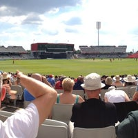 Photo taken at Emirates Old Trafford by Mark C. on 8/26/2013