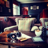 Photo taken at Soho House by Omid A. on 11/12/2012