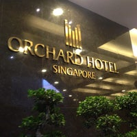 Photo taken at Orchard Hotel by Ismail S. on 9/22/2013