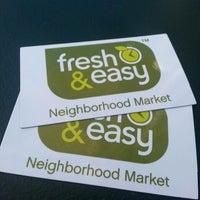 Photo taken at Fresh & Easy Neighborhood Market by Cid on 7/19/2013