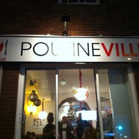 Photo taken at Poutineville by Christine P. on 1/6/2013