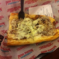 Photo taken at Penn Station East Coast Subs by John W. on 11/16/2012