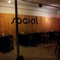 Photo taken at Social Bar e Restaurante by João Marcelo R. on 10/21/2012