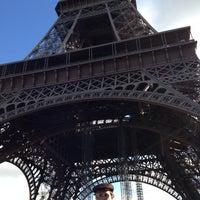 Photo taken at Eiffel Tower by Jose Eduardo F. on 10/30/2013