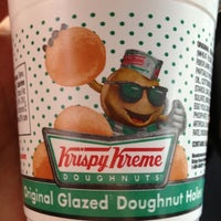 Photo taken at Krispy Kreme Doughnuts by Alex O. on 11/8/2012