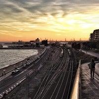 Photo taken at Tarragona Railway Station by Franz K. on 10/17/2013