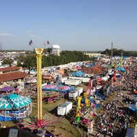 Photo taken at North Carolina State Fairgrounds by Christopher J. on 10/20/2012