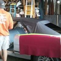 Photo taken at James Auto Upholstery by Judy M. on 9/18/2012