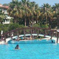 Photo taken at Alara Park & Residence Hotel by Merve A. on 7/29/2015