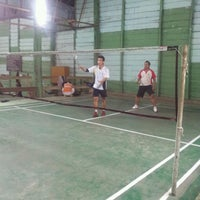 Photo taken at UNKLAB Sport Hall by Timm M. on 8/10/2013