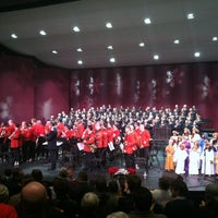 Photo taken at The Carpenter Performing Arts Center by Billy F. on 12/17/2012