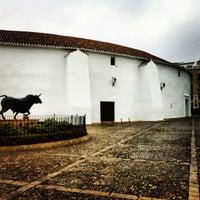 Photo taken at Plaza de Toros de Ronda by Tulio P. on 1/16/2013