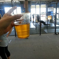 Photo taken at Boise Crossfit by Gloria M. on 3/16/2013