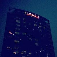Photo taken at Hyatt on the Bund Shanghai by Takeshi N. on 1/29/2013